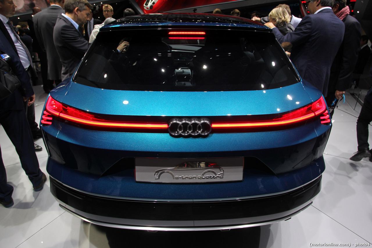 Audi E Tron Quattro Salone Di Francoforte 2015 Foto 9 Di 9