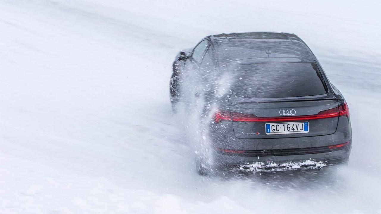 Audi e-tron S Sportback 2021 PROVA SU STRADA