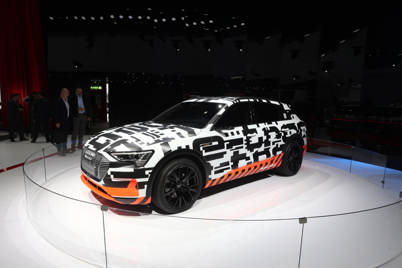 Audi e-tron - Salone di Ginevra 2018