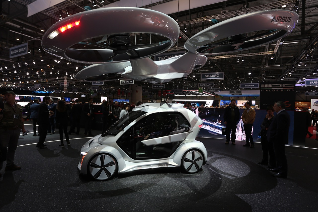 Audi Italdesign Pop Up Next - Salone di Ginevra 2018