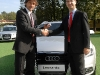 Audi: la Flotta per l\'AC Milan