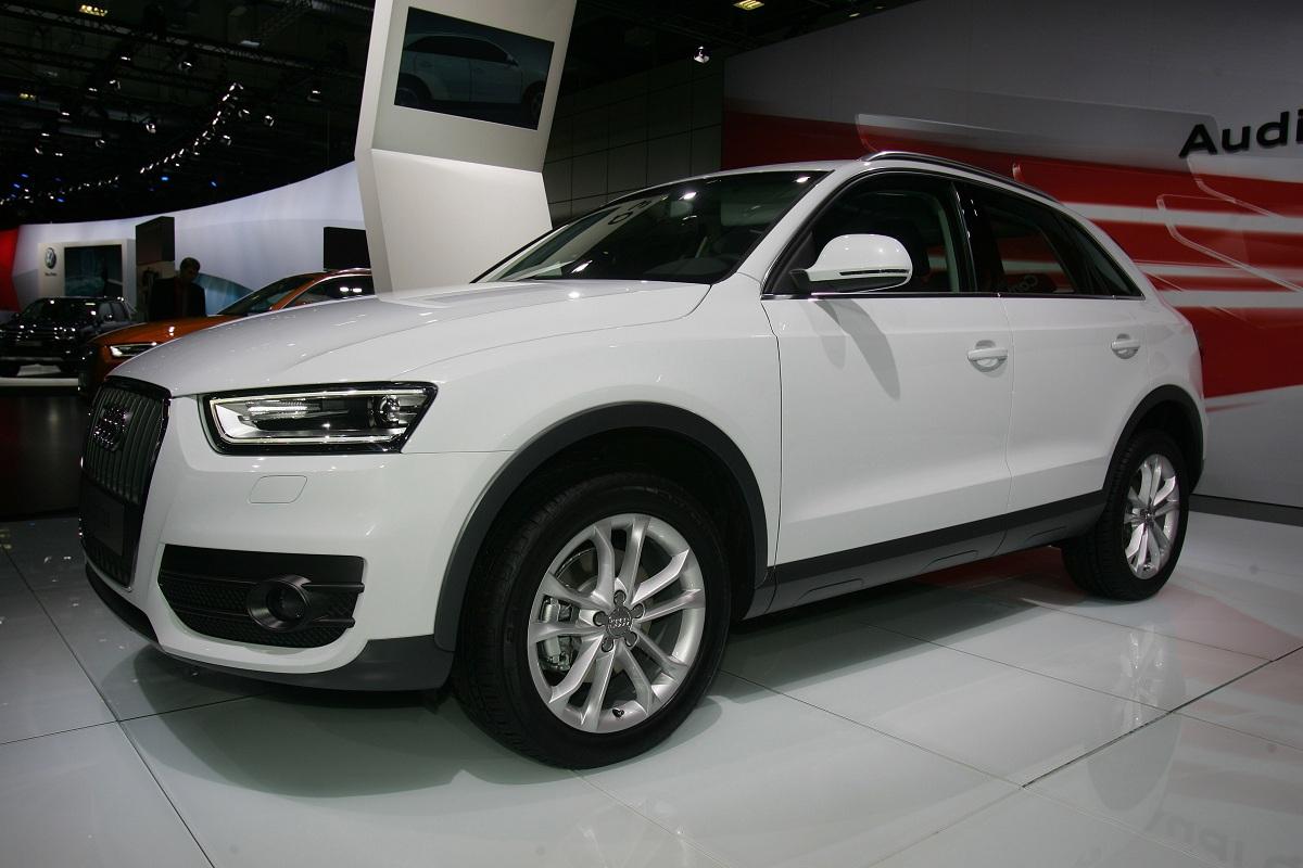 Audi Q3 Motor Show 2011 Foto 3 Di 5