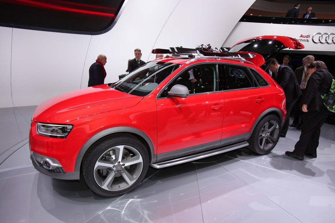 Audi Q3 Vail Concept Salone Di Detroit 2012 Foto 2 Di 15