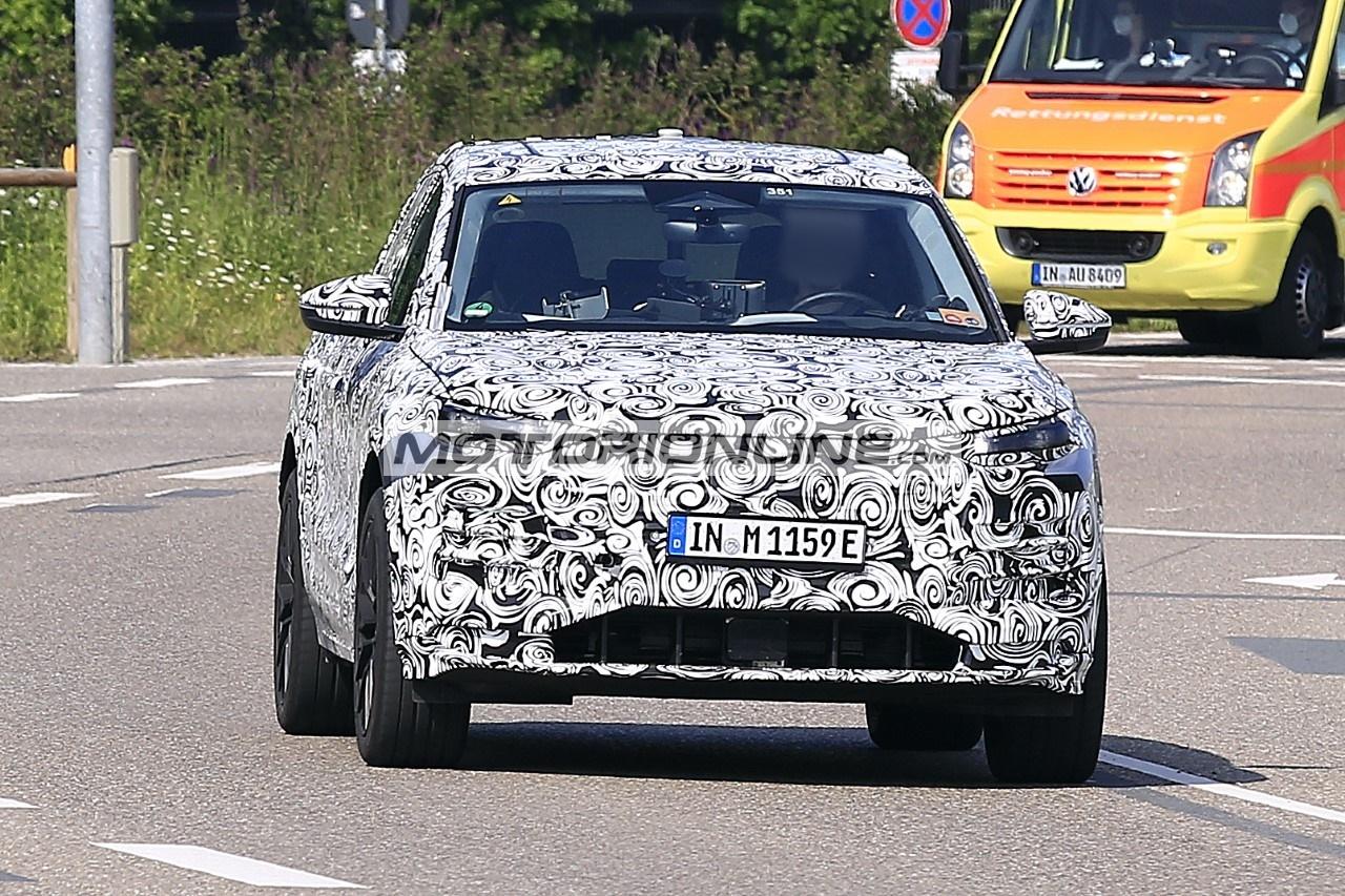 Audi Q6 e-tron - Foto spia 12-7-2021