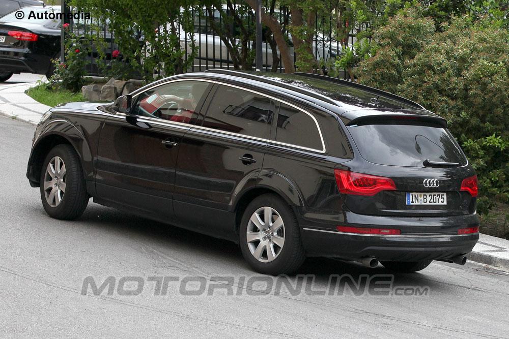 Audi Q7 Foto Spia 25 05 2013 Foto 4 Di 5