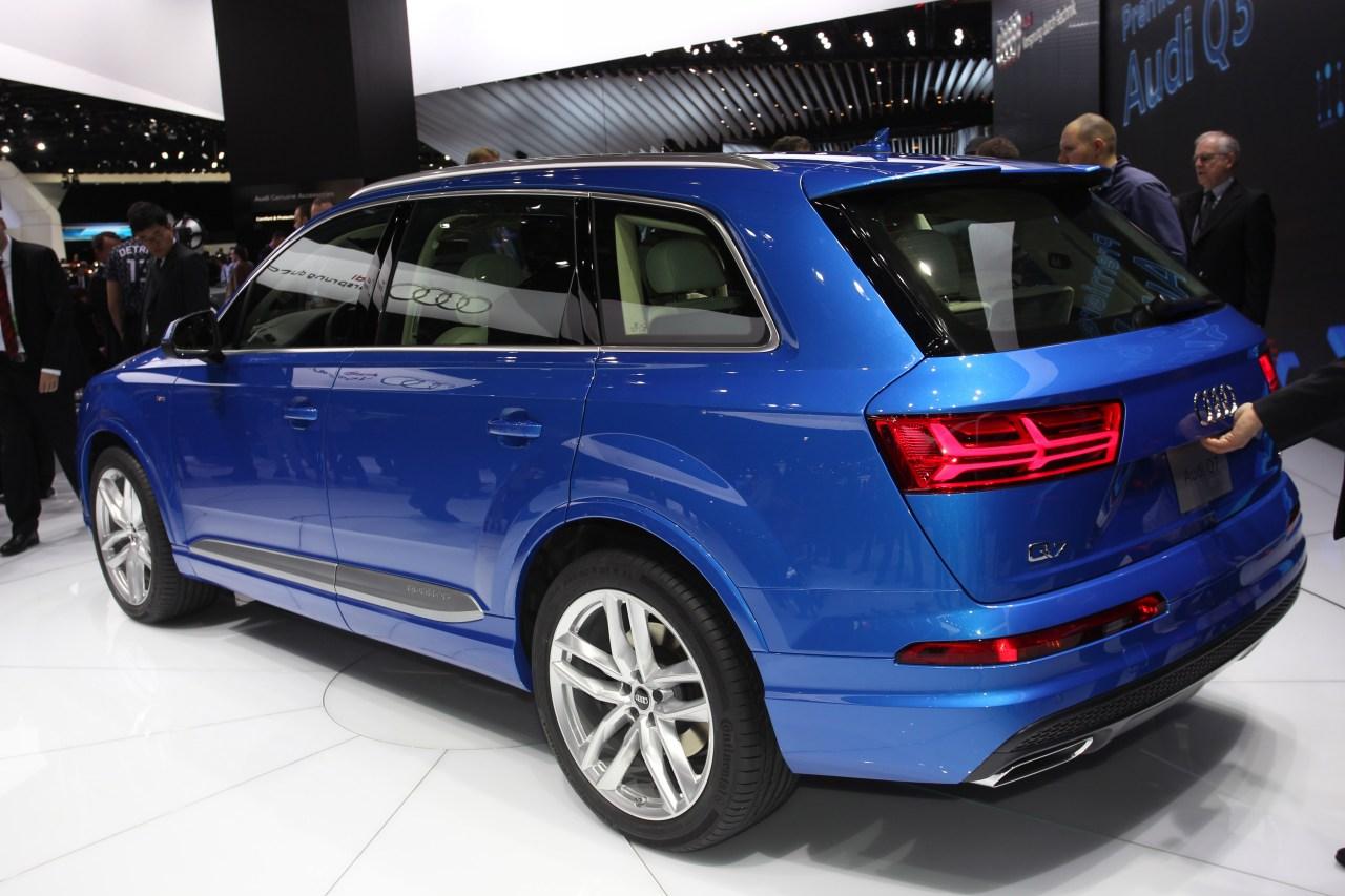 Audi Q7 - Salone di Detroit 2015