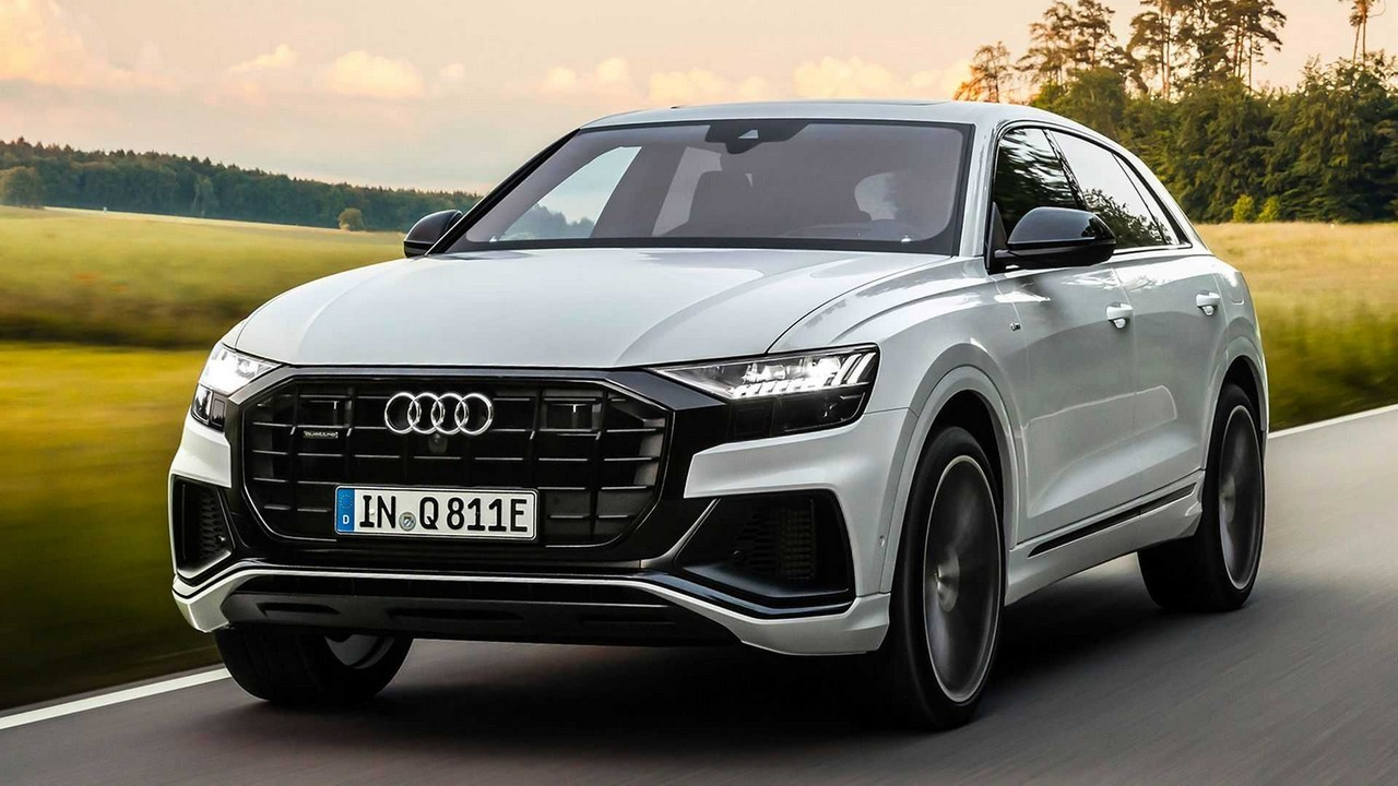Audi Q8 ibrida plug-in gallery 2020