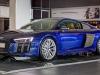 Audi R8 blu Santorini