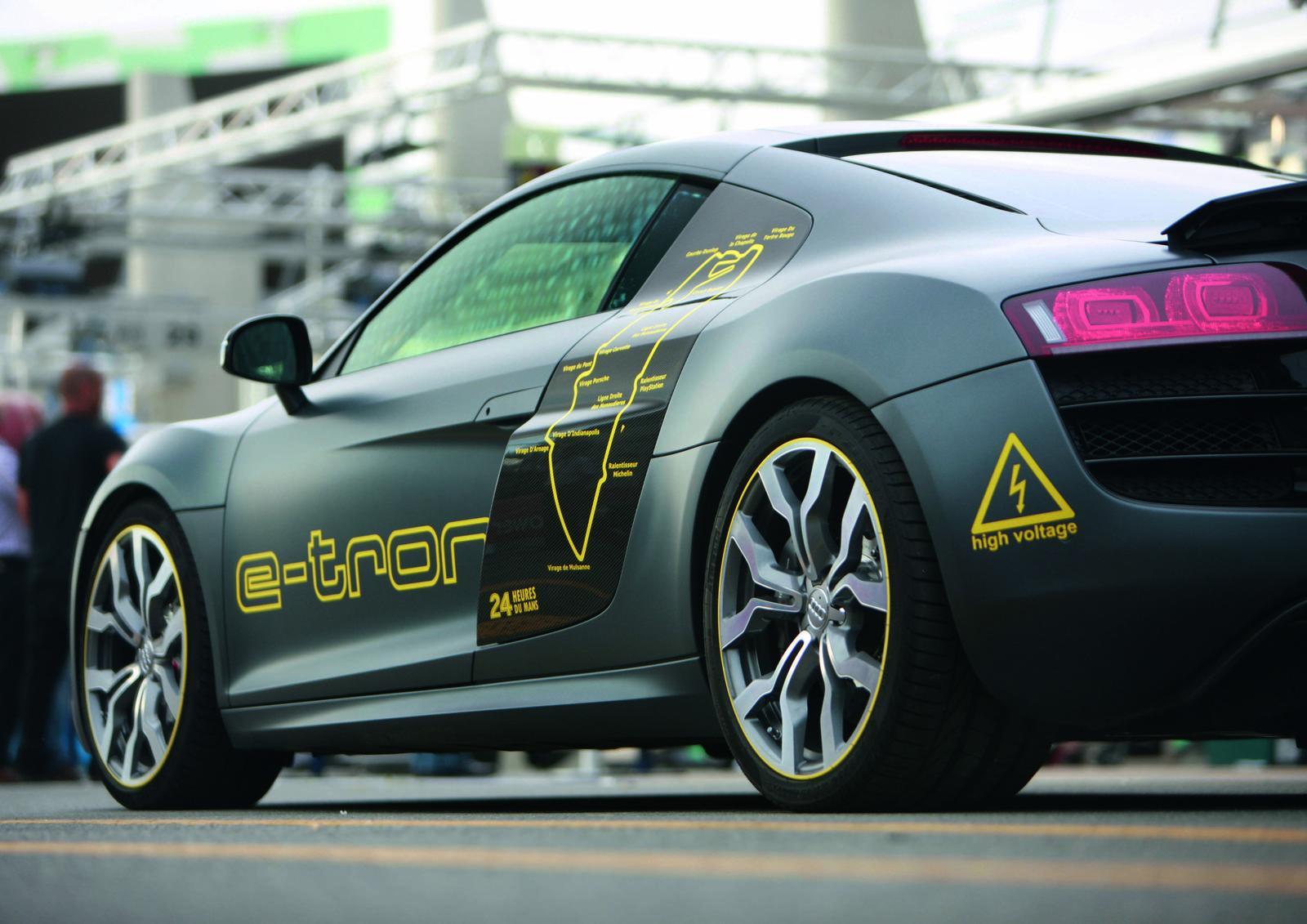 Audi R8 E Tron Prototype Foto 7 Di 15