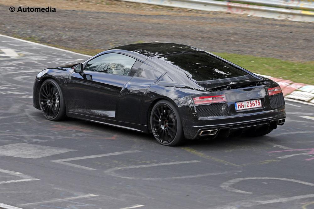 Audi R8 Foto Spia Foto 1 Di 6
