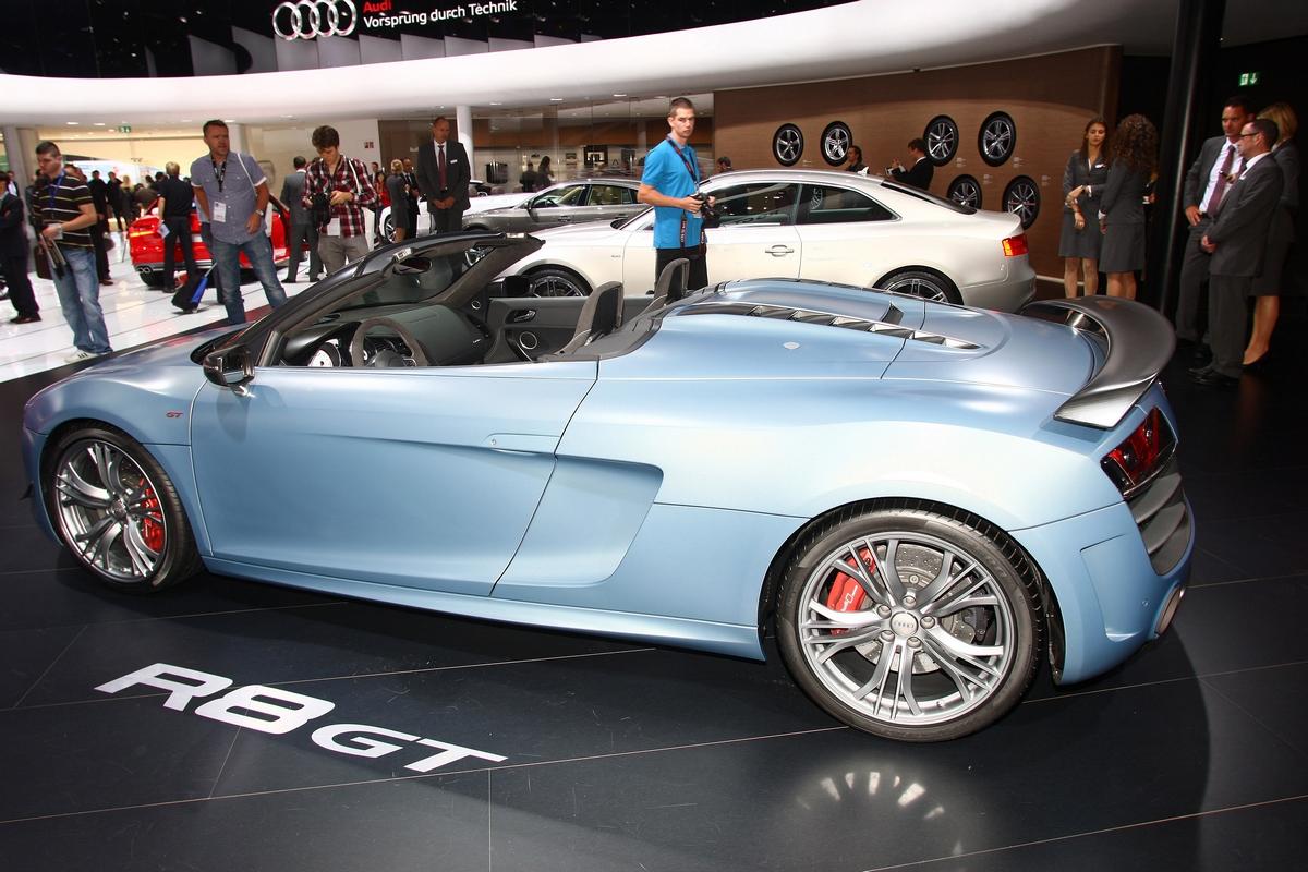 Audi R8 GT - Salone di Francoforte 2011