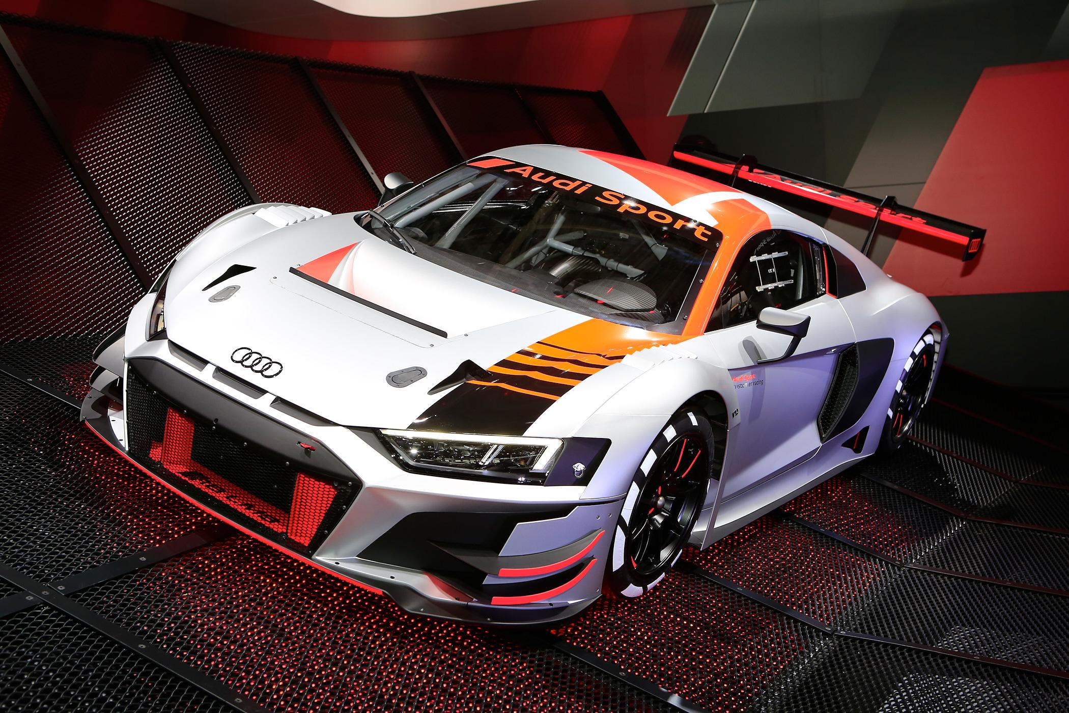 Audi R8 LMS GT3 - Salone di Parigi 2018