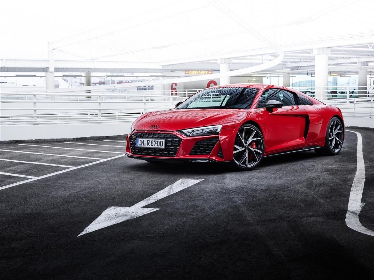 Audi R8 V10 Performance 2021- Foto ufficiali