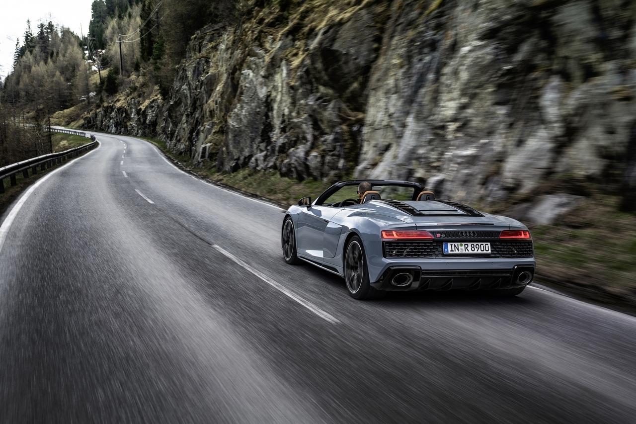 Audi R8 V10 Performance RWD - Foto ufficiali