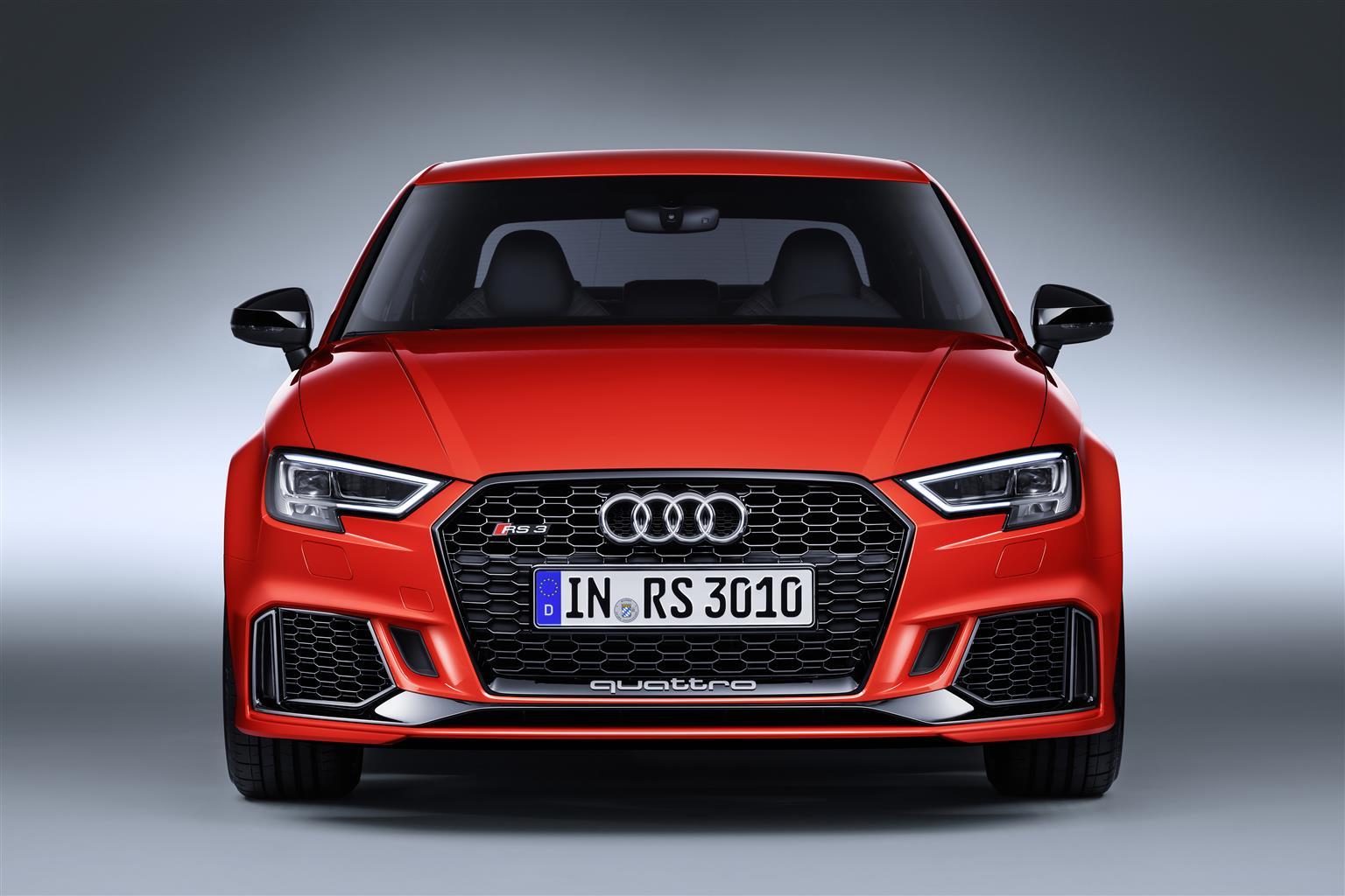 Audi Rs 3 Sedan Foto Stampa Salone Di Parigi 2016 Foto