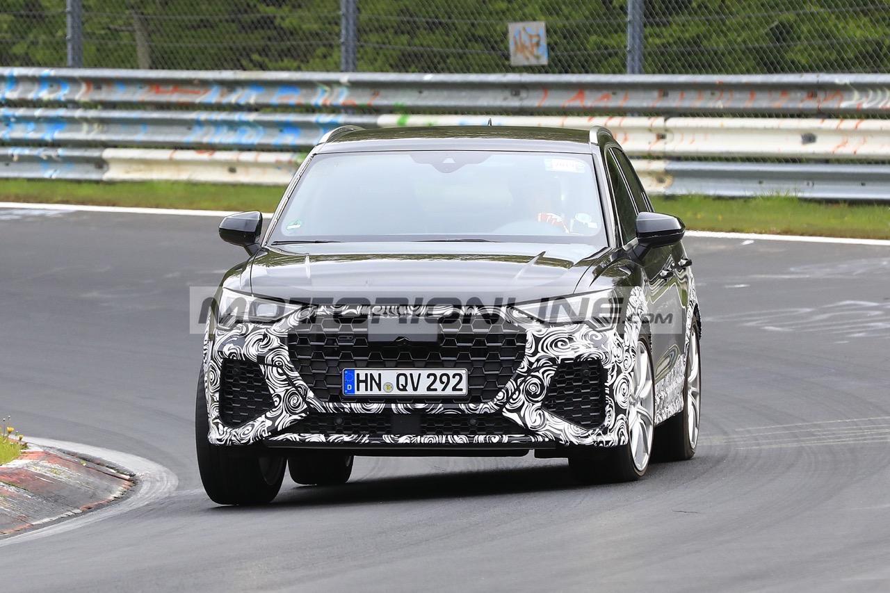 Audi RS Q3 - Foto spia 7-5-2019