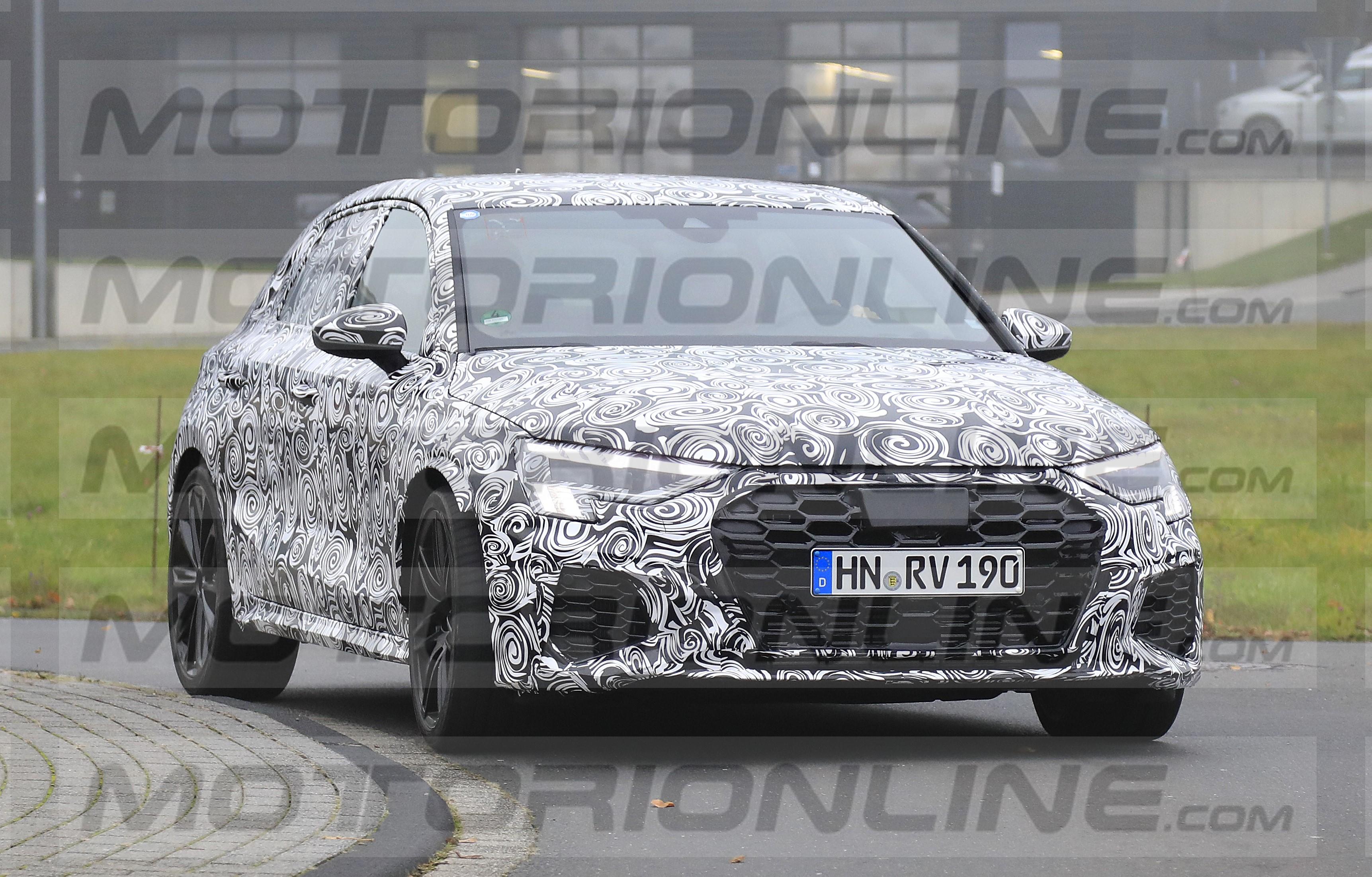 Audi RS3 2020 - Le foto spia