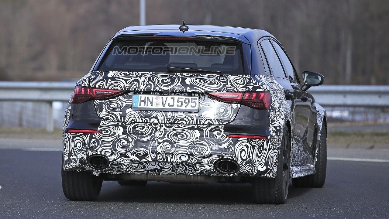 Audi RS3 2021 - Foto Spia Nurburgring