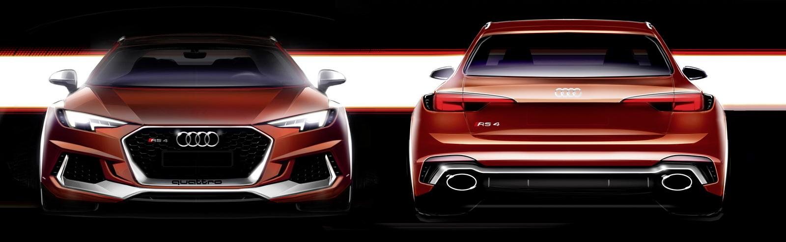 Audi RS4 Avant MY 2018