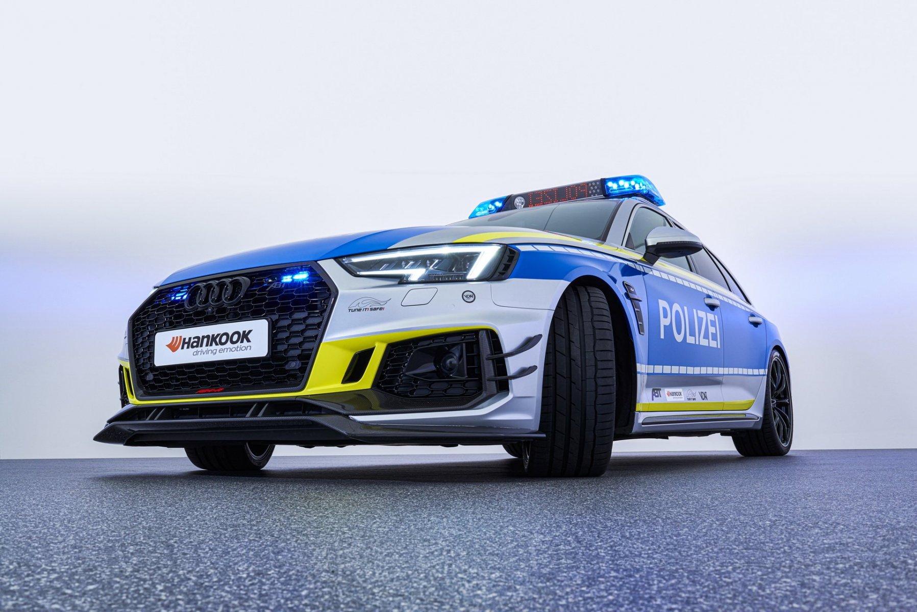 Audi RS4 Avant - Polizia - ABT