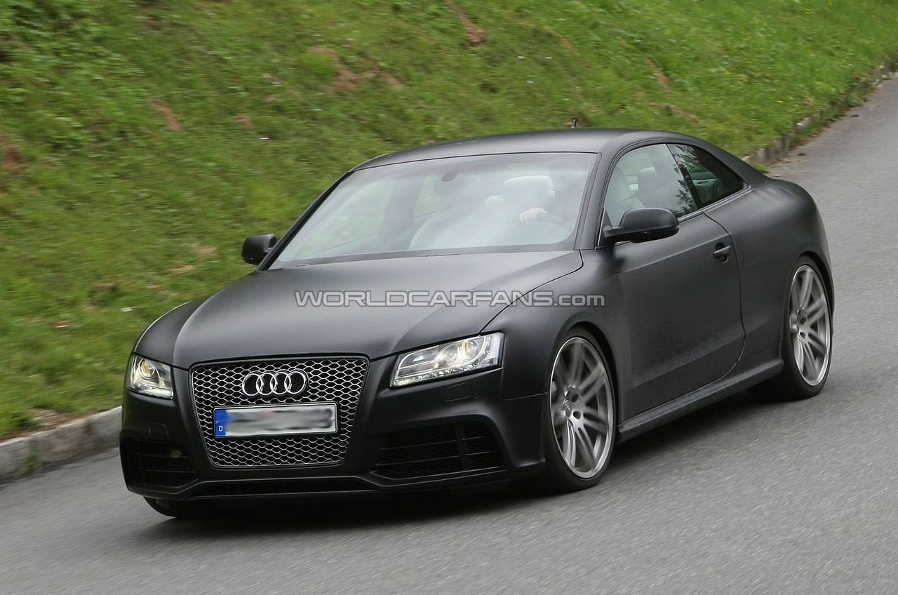 Audi RS5 - Foto Spia