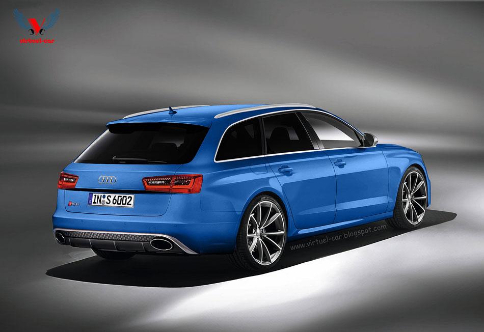 Audi Rs6 Avant Render Foto 2 Di 4
