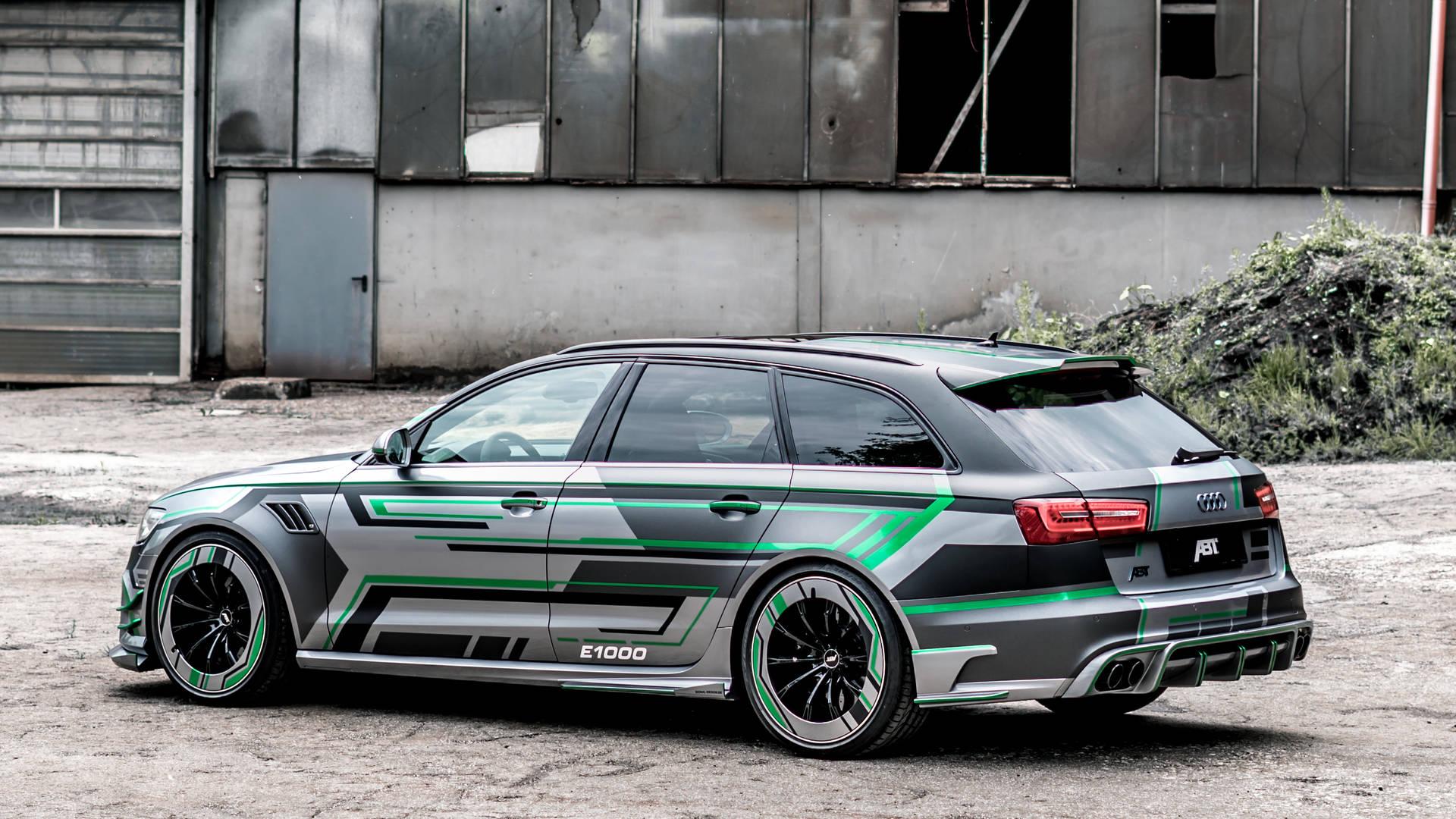 Audi RS6-E Hybrid Concept by ABT