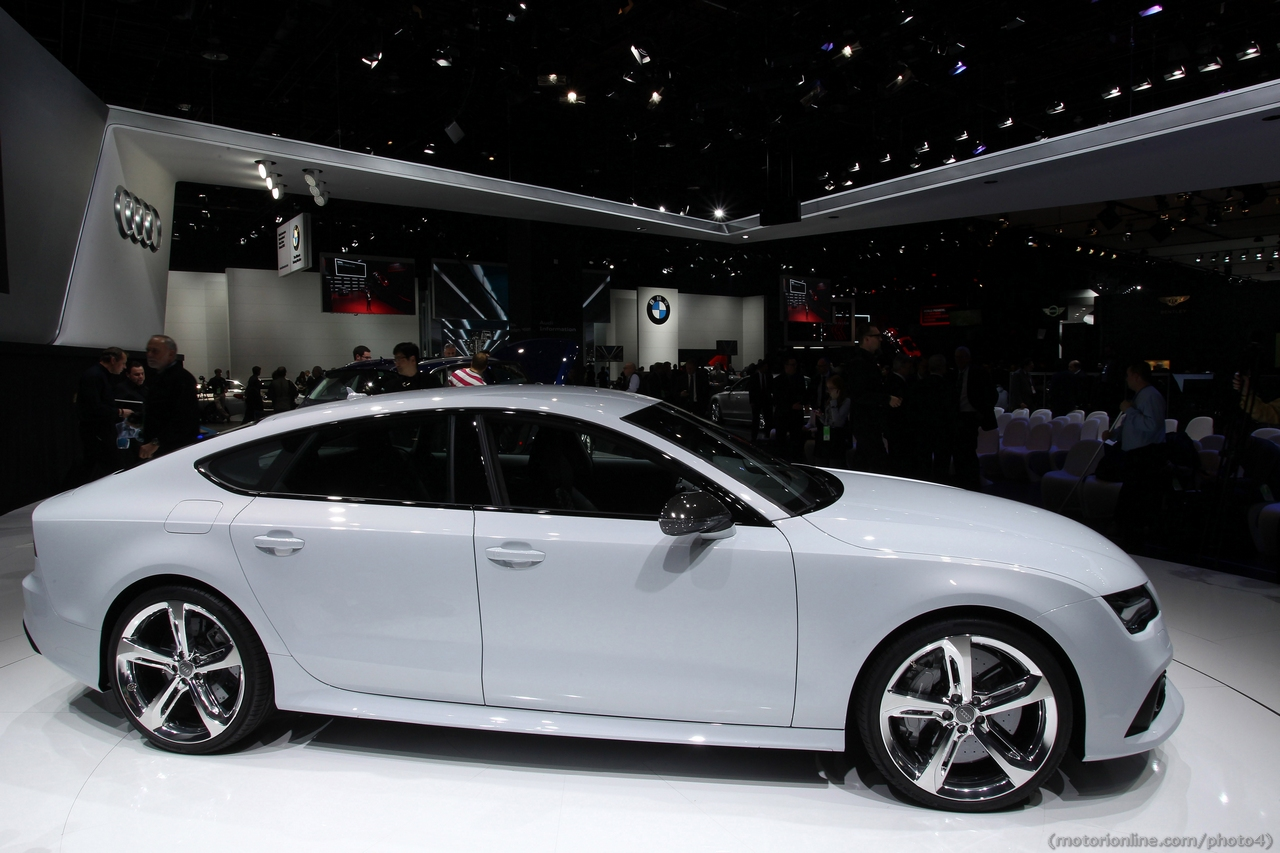 Audi Rs7 Sportback Salone Di Detroit 2013 Foto 33 Di 37