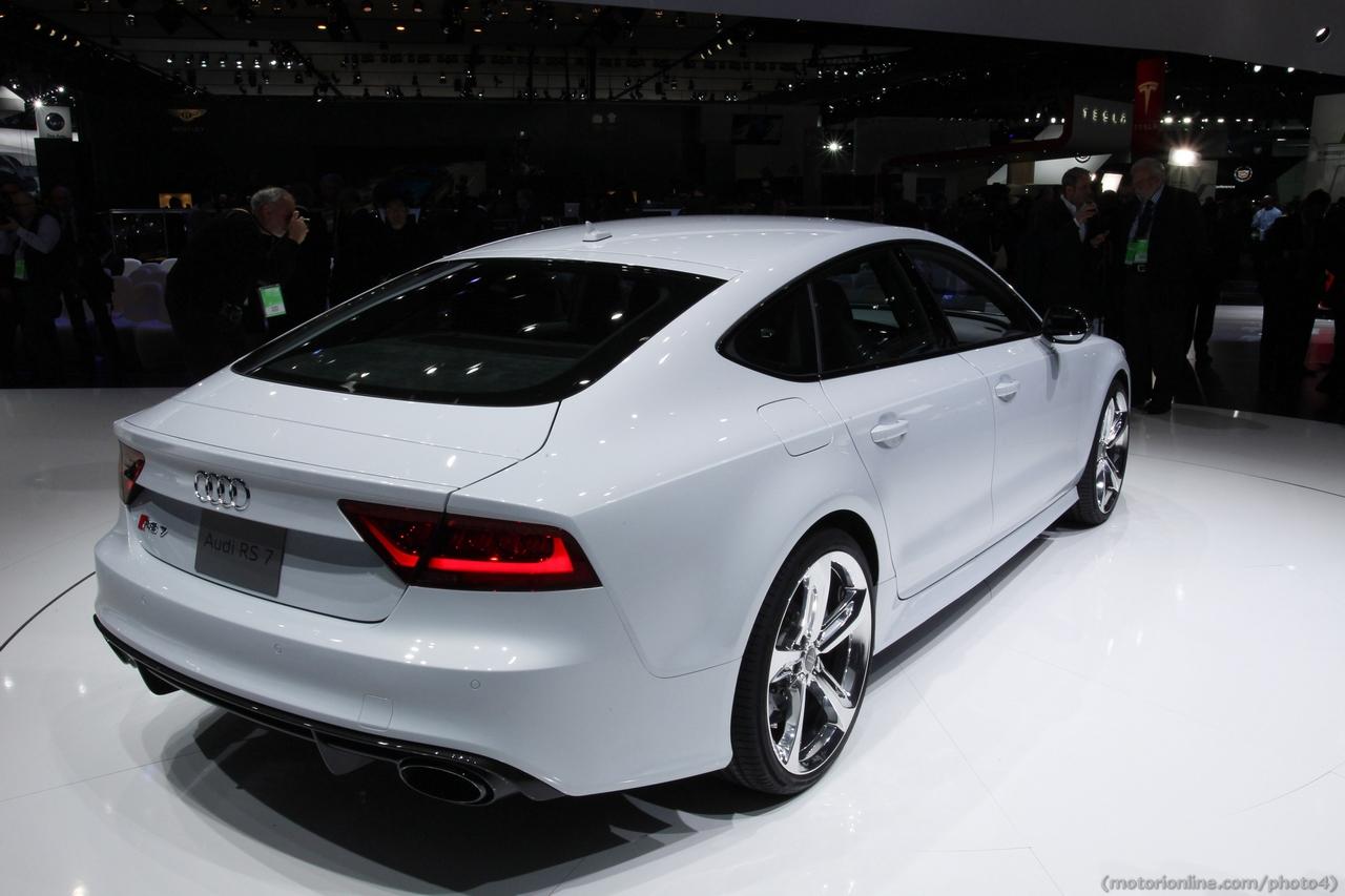 Audi Rs7 Sportback Salone Di Detroit 2013 Foto 15 Di 37