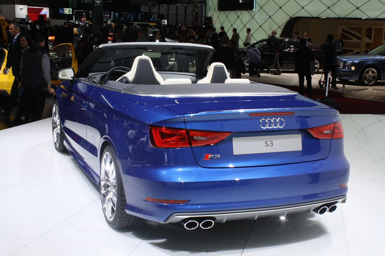 audi s3 cabrio salone di ginevra 2014 8 16. Black Bedroom Furniture Sets. Home Design Ideas