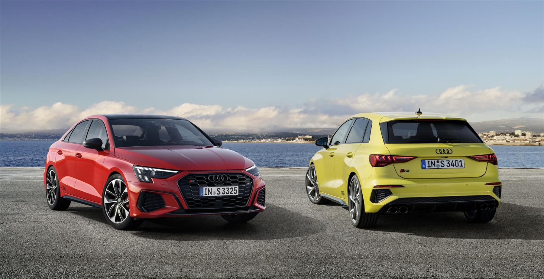 Audi S3 Sportback e S3 Sedan 2020