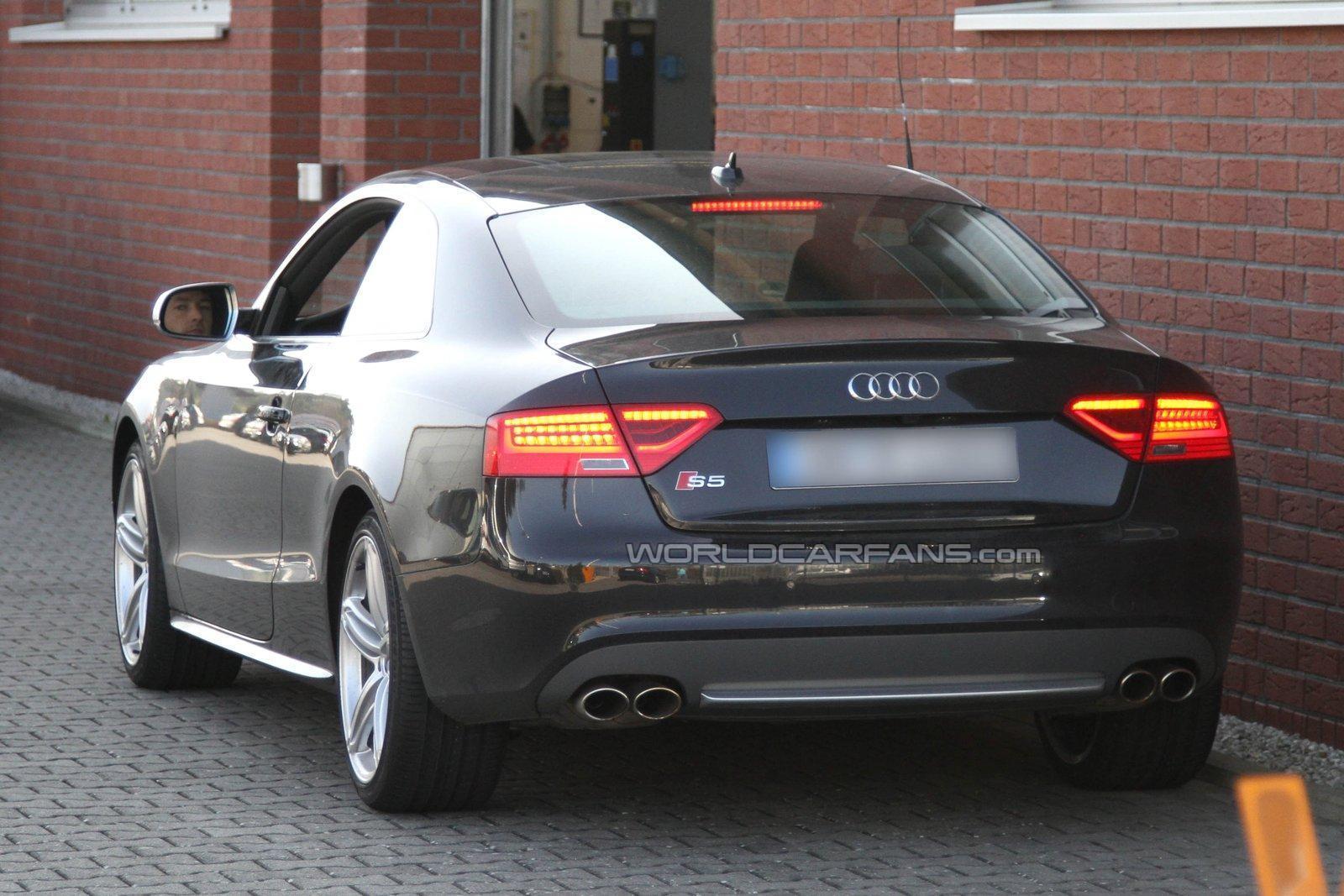 Audi S5 Facelift 2012 Foto Spia 09 04 2011 Foto 1 Di 8
