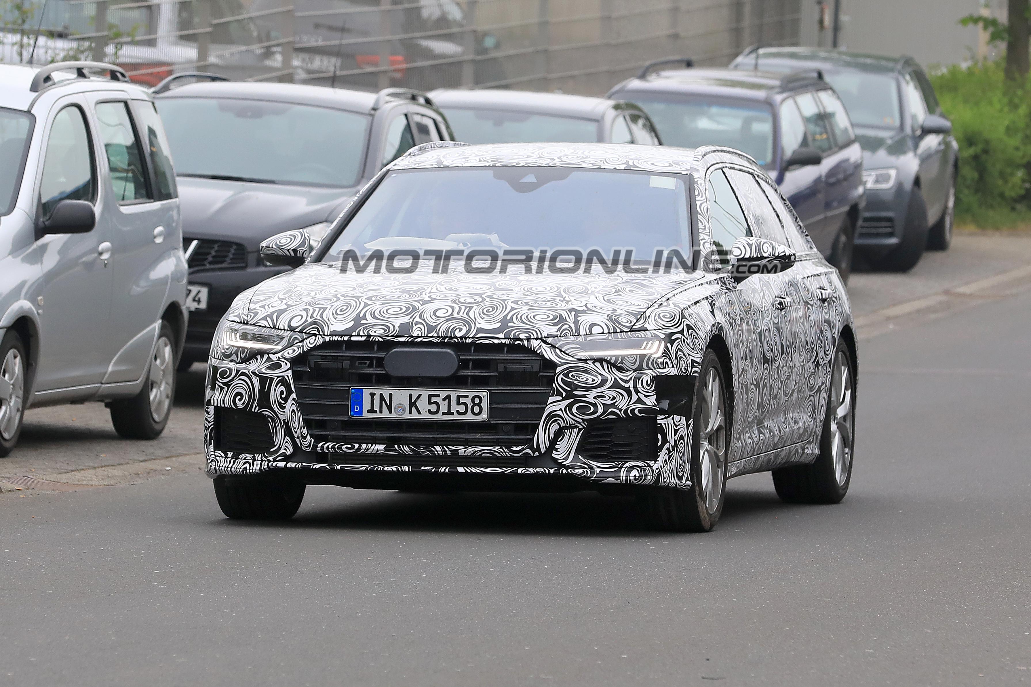 Audi S6 Avant MY 2019 foto spia 16 maggio 2018