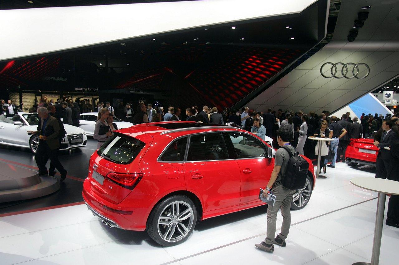 Audi Sq5 Tdi Salone Di Parigi 2012 Foto 1 Di 10