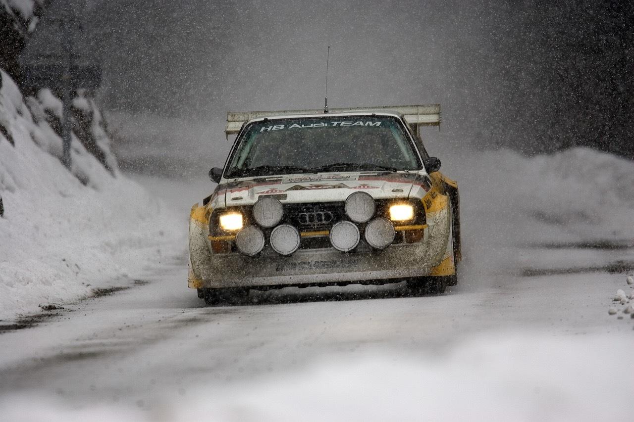 Audi trazione quattro - 40 anni