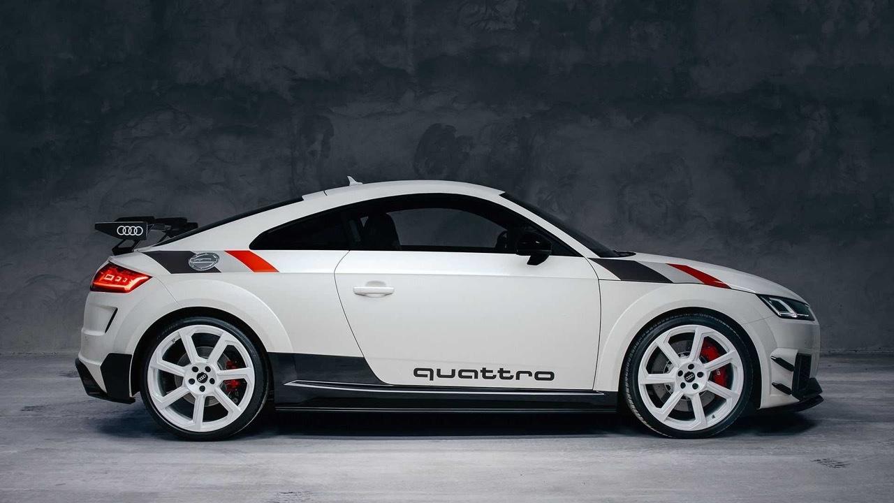 Audi TT RS 40 years of Quattro 2020