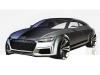 Audi TT Sportback Concept - Sketch