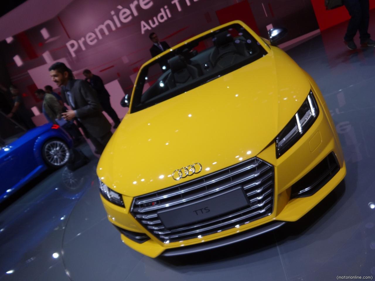 Audi tts salone di parigi 2014 6 8 for Salone mobile parigi