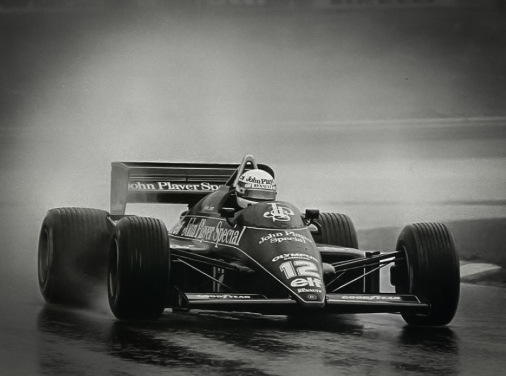 Ayrton Senna - Lotus - GP Estoril 1985