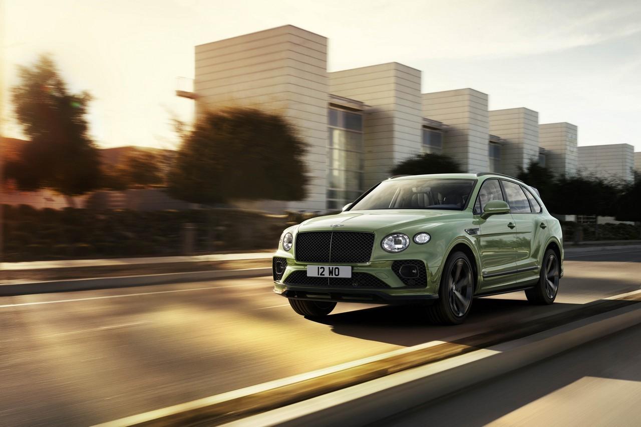 Bentley Bentayga 2020 restyling