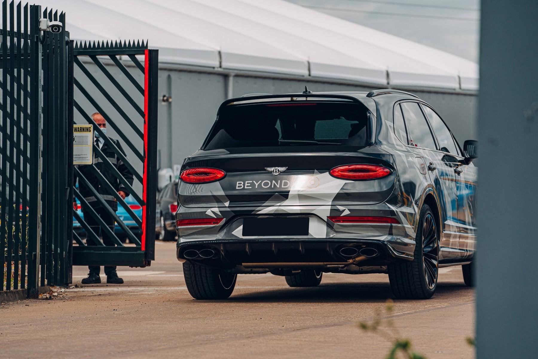 Bentley Bentayga Speed 2021 - Prototipo