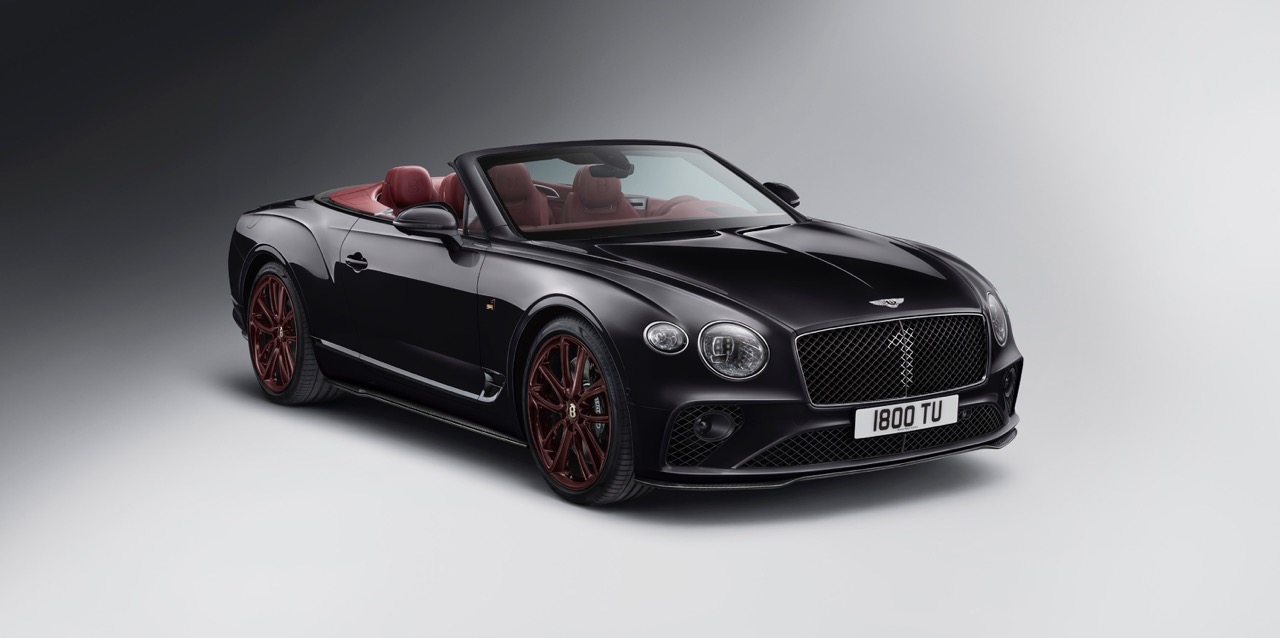 Bentley Continental GT Convertible Number 1 Edition