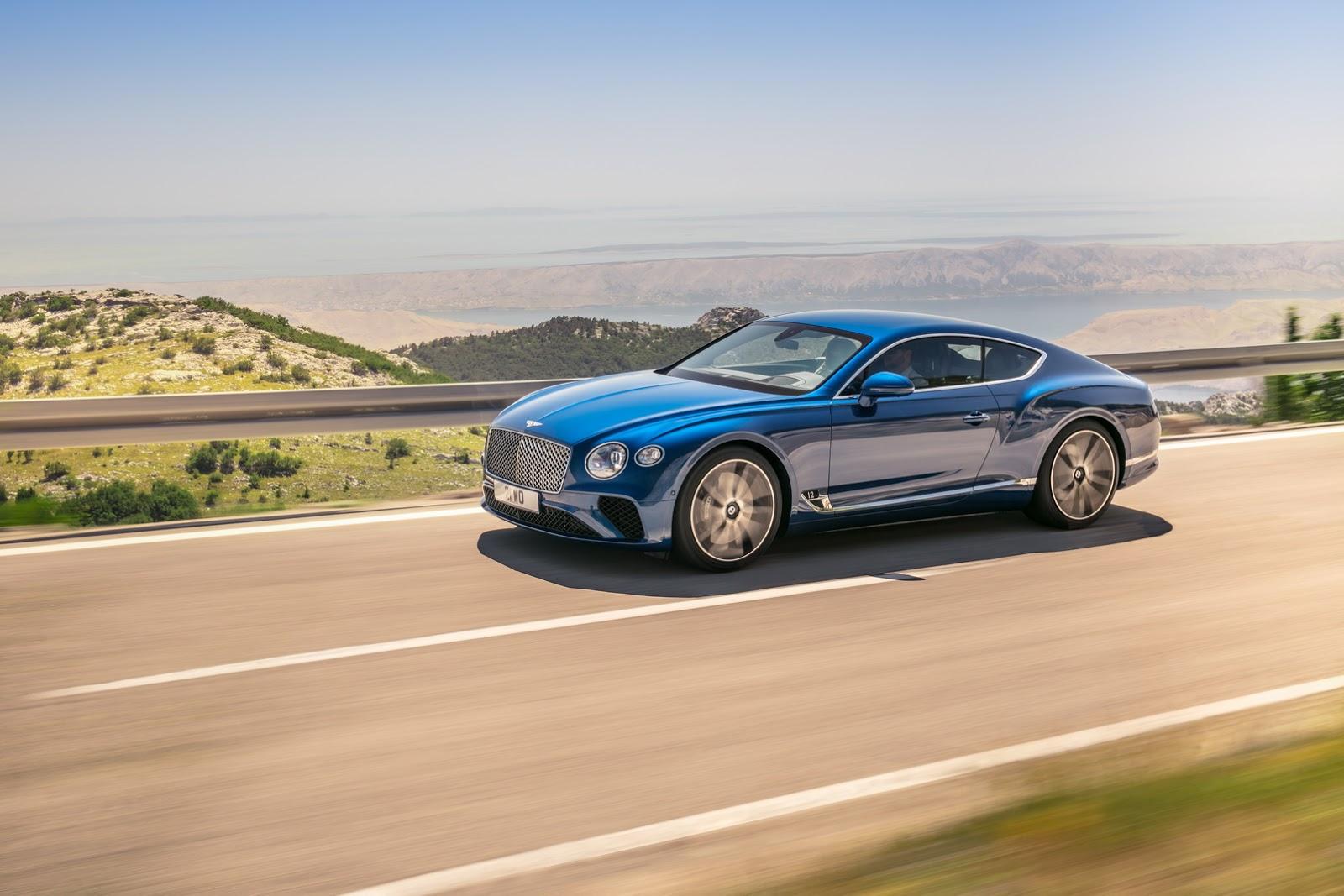 Bentley Continental GT e Mulsanne Salone di Francoforte 2017