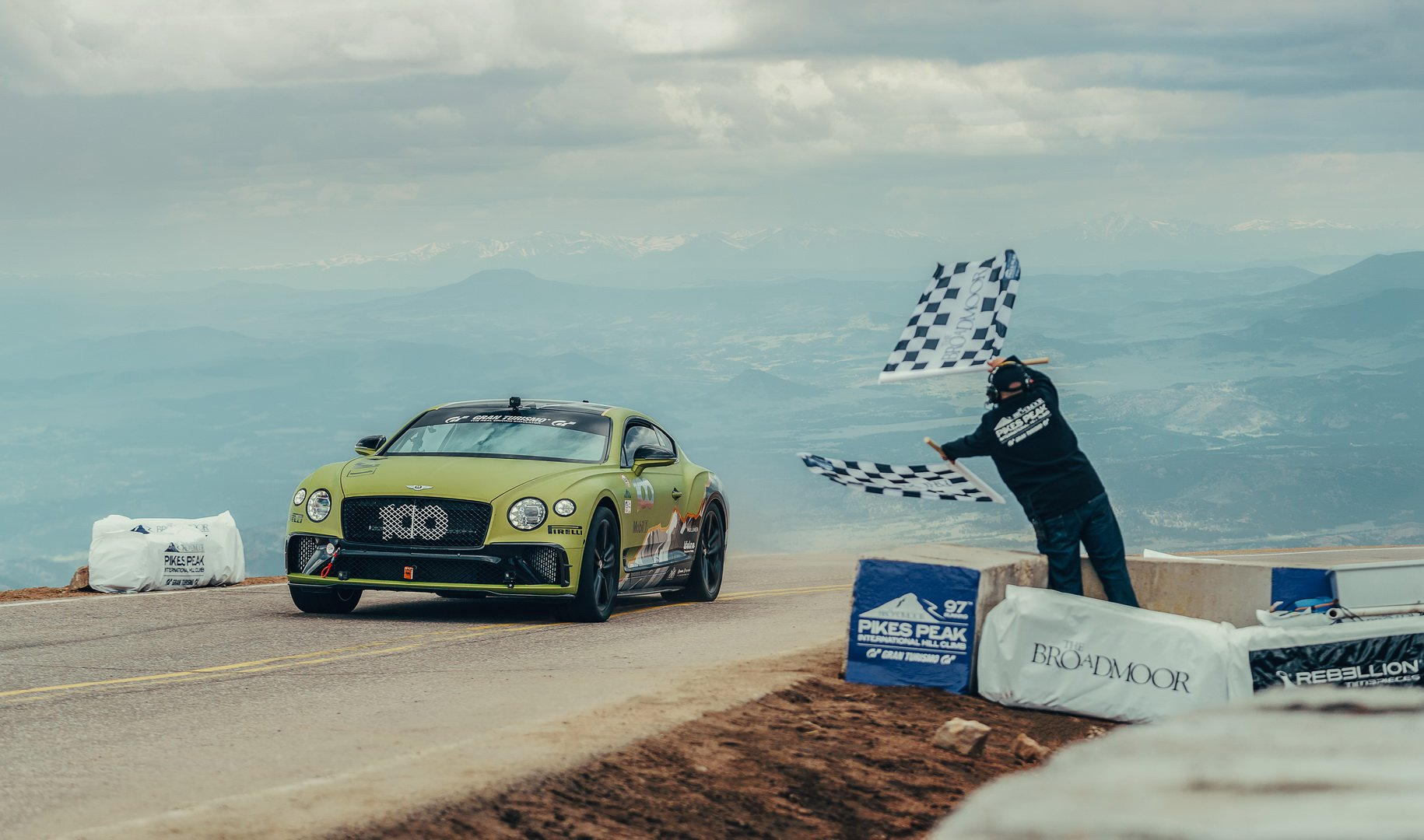 Bentley Continental GT - Record Pikes Peak