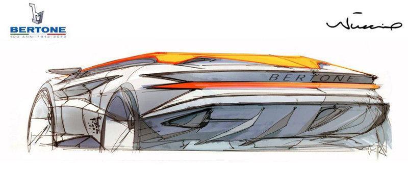 Bertone Nuccio Concept bozzetti