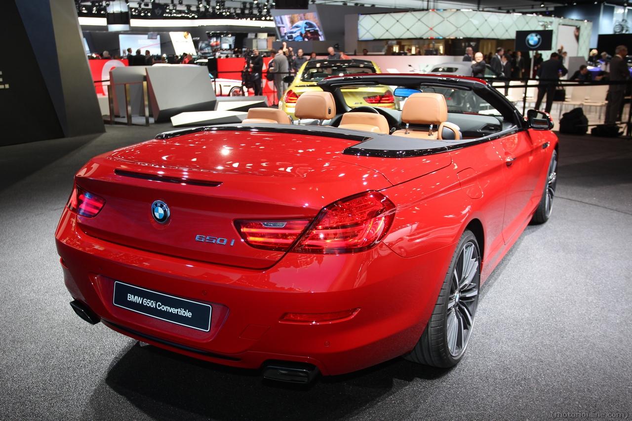 BMW 650i Convertible - Salone di Detroit 2015