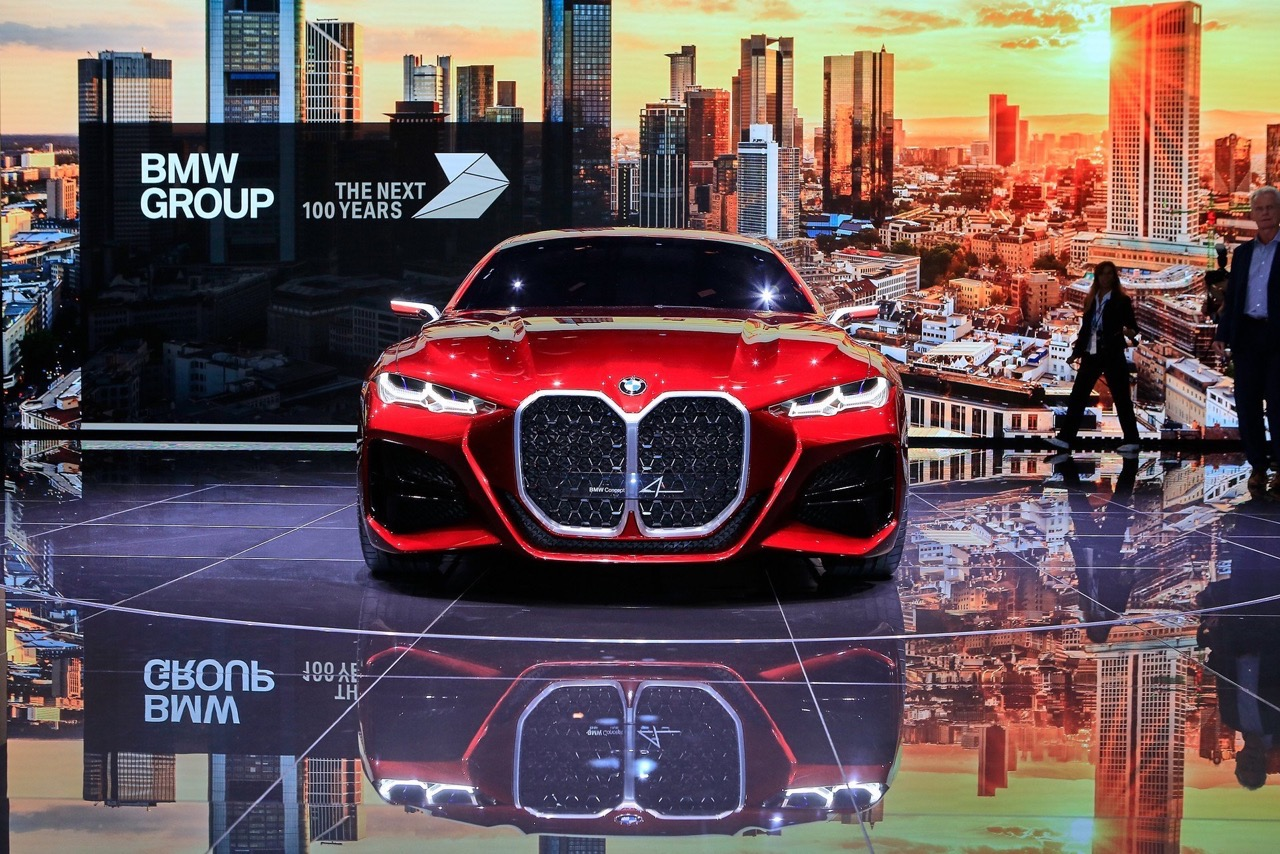 BMW Concept 4 - Salone di Francoforte 2019