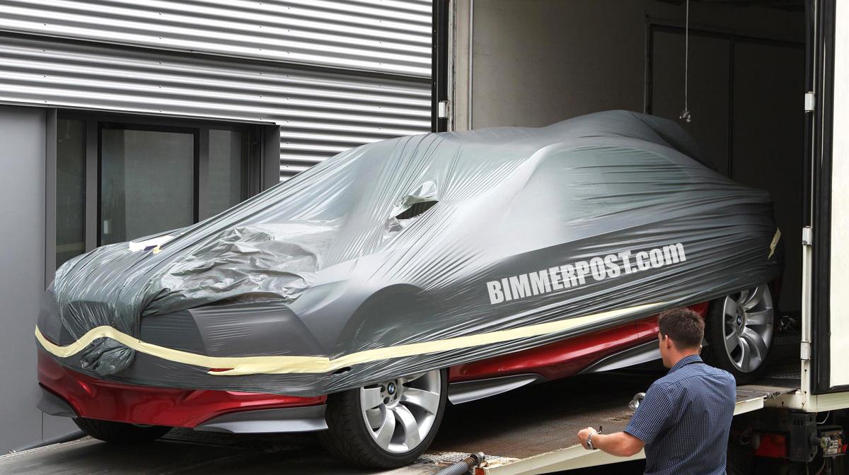 BMW - Foto spia Prototipo sportiva ecologica