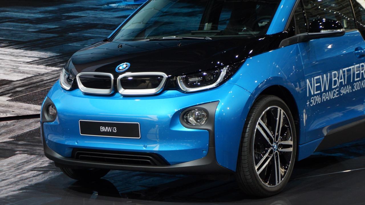 BMW i3 New Battery - Salone di Parigi 2016