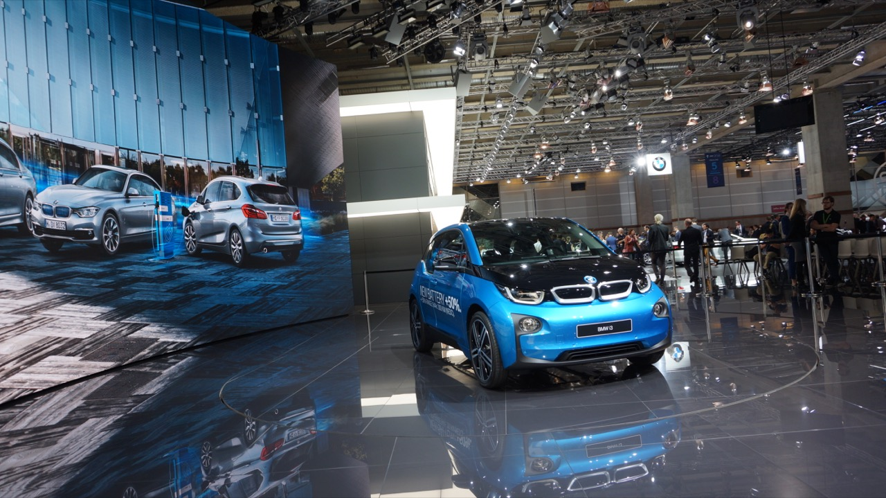 BMW i3 New Battery - Salone di Parigi 2016